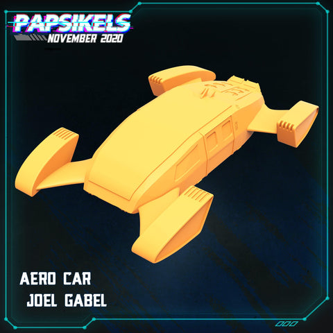 Aerocar by Papsikels - PRINT TO ORDER