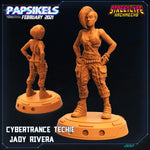 Jady Rivera by Papsikels Miniatures - Mecha.Net Studios