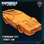 Cyberglow Car by Papsikels Miniatures