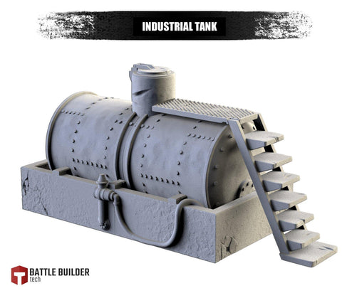 Industrial Tank by Txarli Factory BattleBuilder Tech - Mecha.Net Studios
