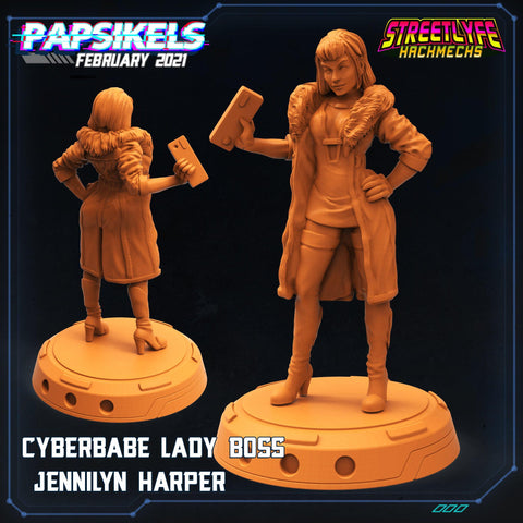 Jennilyn Harper by Papsikels Miniatures - Mecha.Net Studios