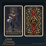 The Priestess by Great Grimoire - Major Arcana