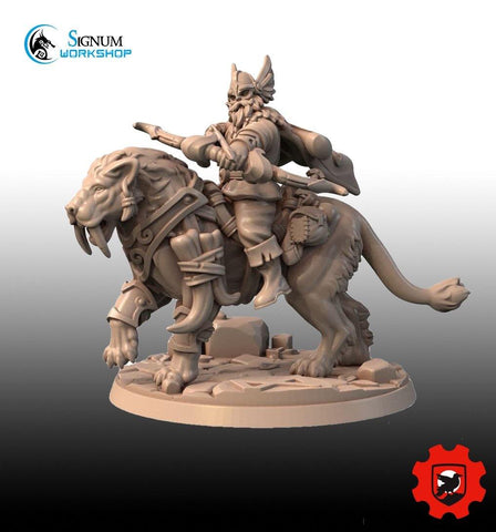 Ingvar the Beast Tamer by Signum Workshop - Mecha.Net Studios