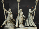 Damsel of the Lady by Highlands Miniatures