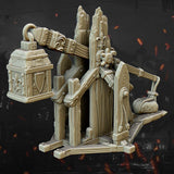 Trebuchet and Crew by Highlands Miniatures