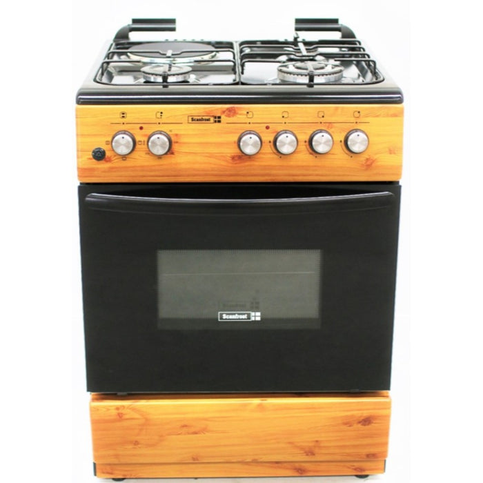 SCANFROST SFC 6312 GAS BURNER(WOOD FINISH)