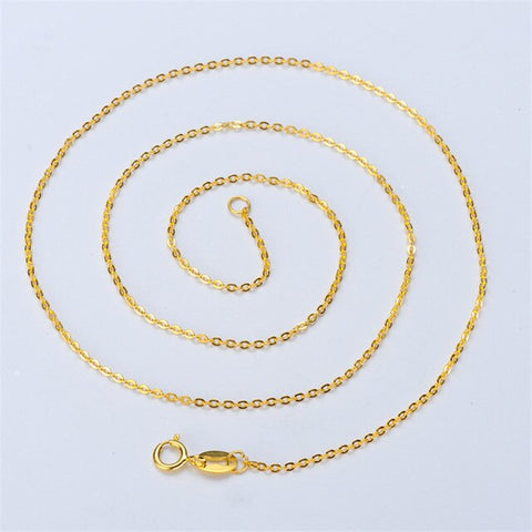 100PCS Promotion 925 Sterling Silver Necklaces Slim Thin Snake Chain For Woman 40-45cm Gold/Rose Gold Color