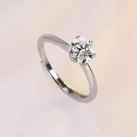 S925 Moissanite ring