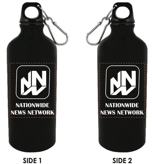 20 oz. Aluminum Bottle- Black