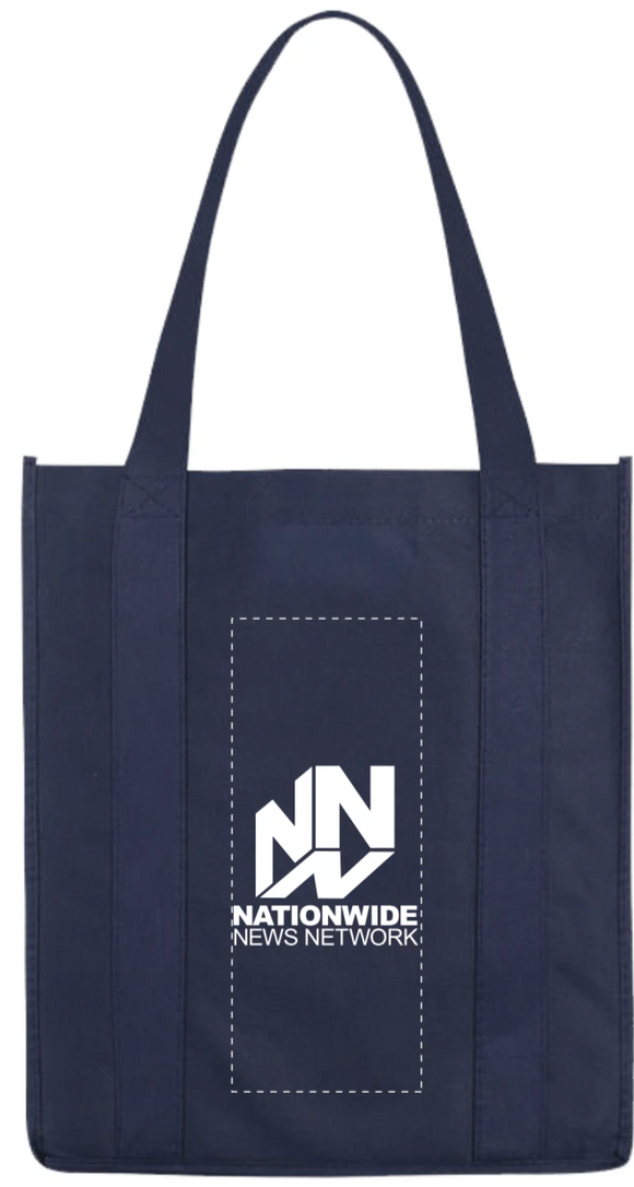 Grocery Tote - Navy Blue
