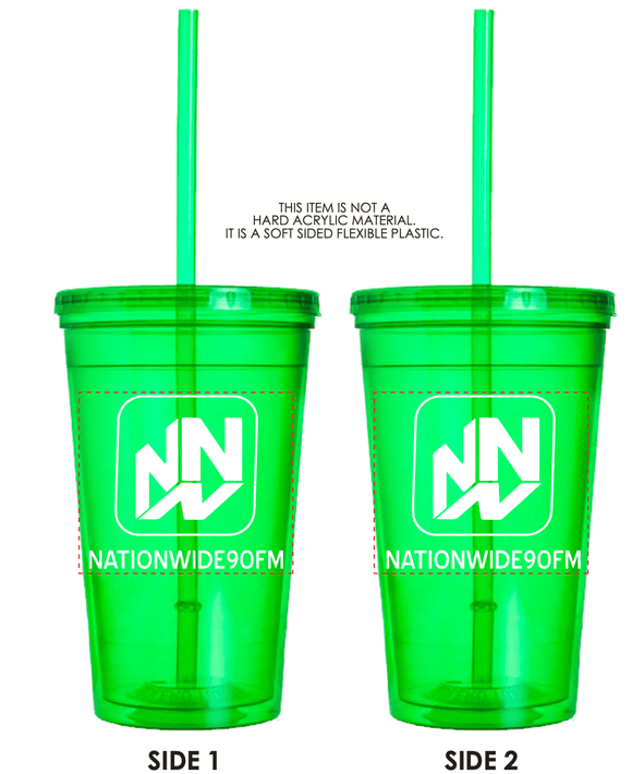16.oz Double Wall Tumbler - Spring Green