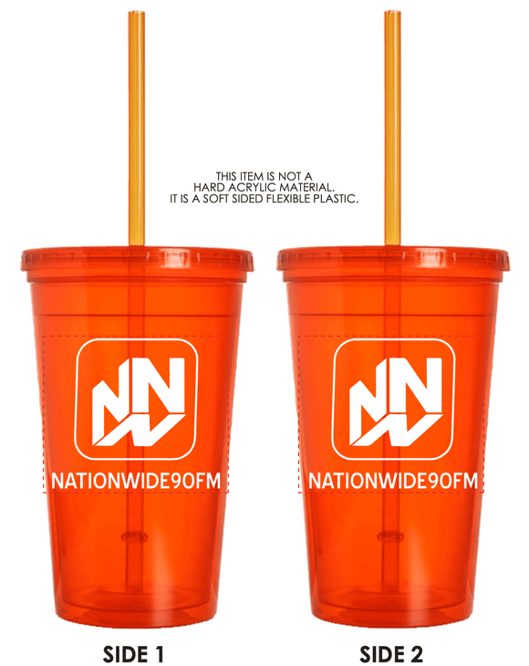 16.oz Double Wall Tumbler - Orange
