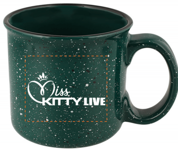 13 oz. Miss Kitty Live Mug - Green