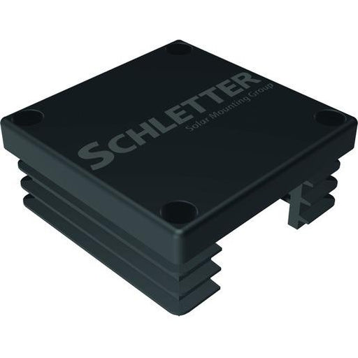 SCHLETTER Plastic End Cap Solo Black
