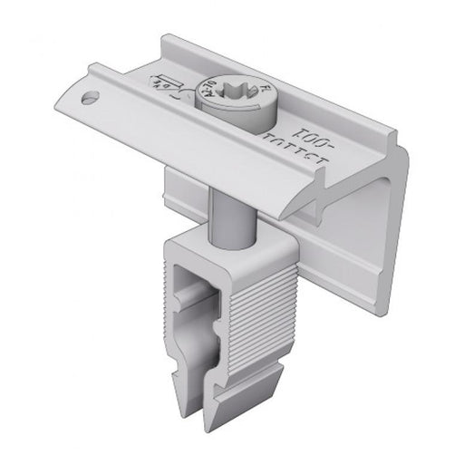 SCHLETTER End Clamp 30-40mm Silver