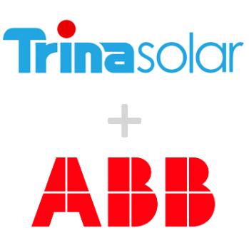 Residential Kit 6.6kw Trina 330w Panels and ABB 5kw Inverter & Mounting Rails