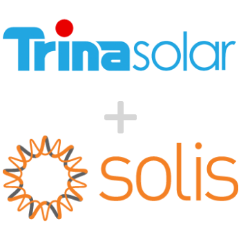 Residential Kit 6.555kW Trina 285W Panels and Solis 5kw (5+5) Inverter Only