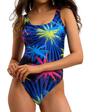 Load image into Gallery viewer, Printing Women Backless One Piece Swimsuits