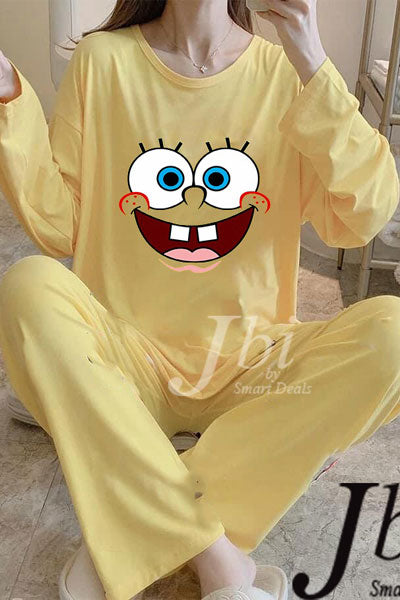 Yellow Sleeping Suit
