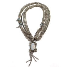Load image into Gallery viewer, Chain & Opal Pendant Necklaces