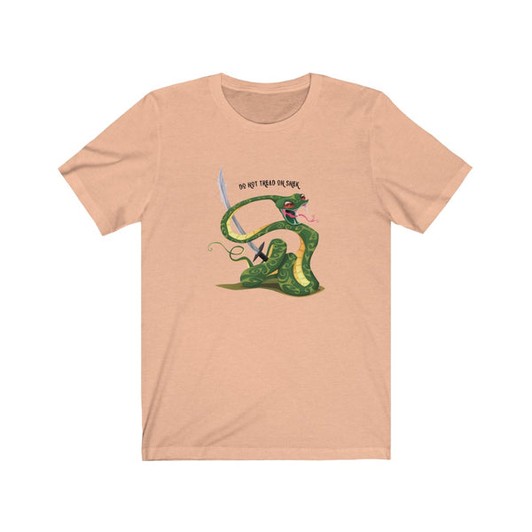 Do not tread on snek - Freedom Collection - Unisex Jersey Short Sleeve Tee