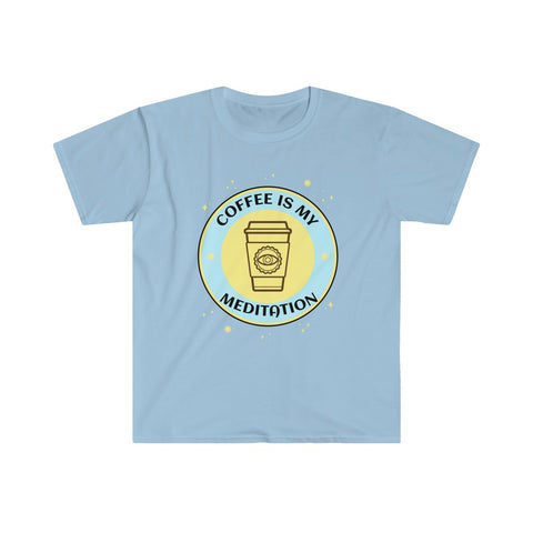 Coffee meditation - Unisex Softstyle T-Shirt