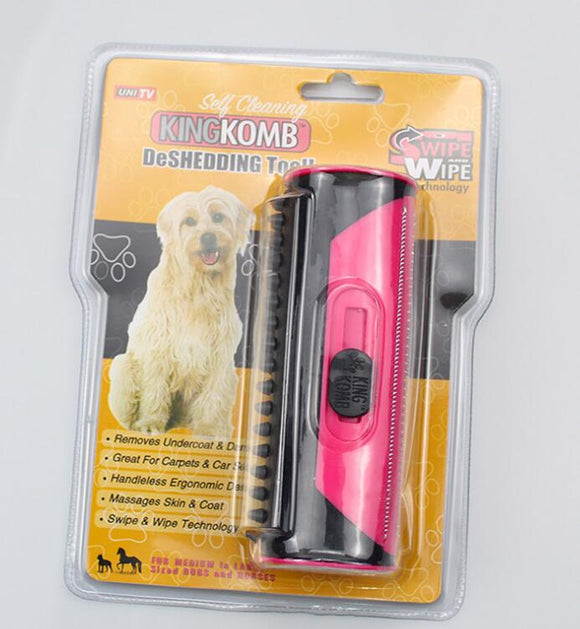 Pet Hair Removal Brush Hair Combing Device - SorrentoCommerce