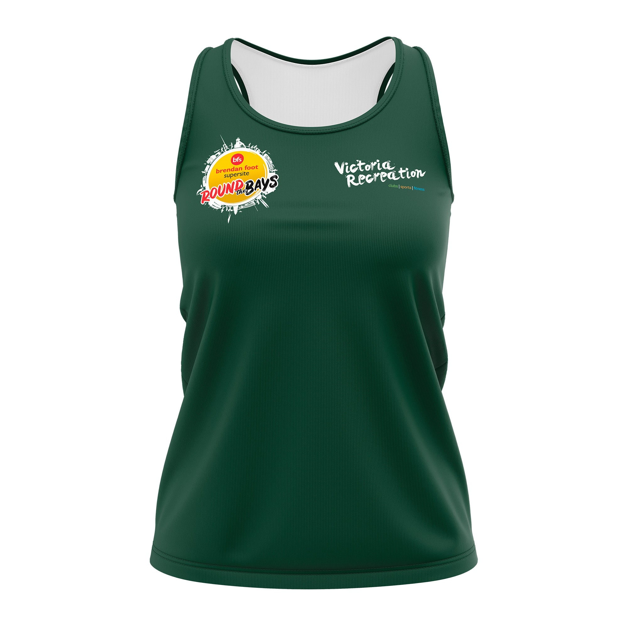 Victoria Recreation - Round the Bays Womens Singlet