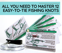 Load image into Gallery viewer, Easy Fishing Knot Tying Kit