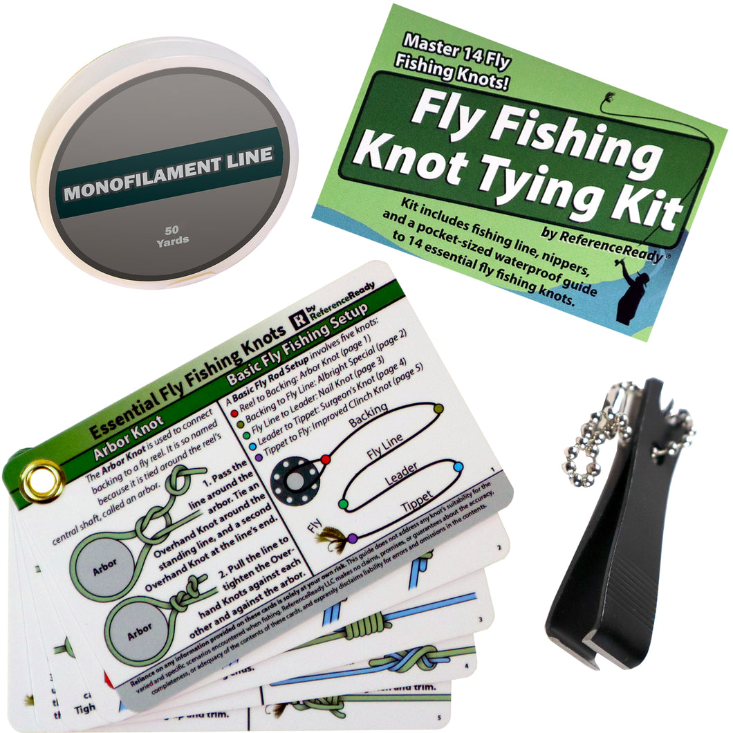 Fly Fishing Knot Tying Kit