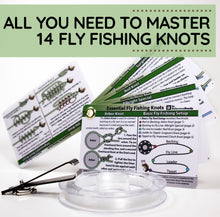 Load image into Gallery viewer, Fly Fishing Knot Tying Kit