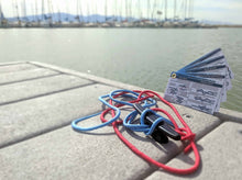 Load image into Gallery viewer, NautiCards: Nautical Knot Tying Kit
