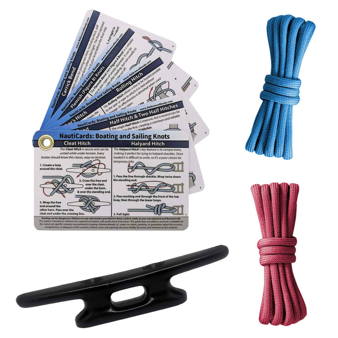 Nautical Knot Tying Kit for Boaters and Sailors