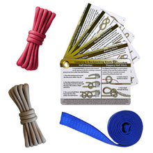 Load image into Gallery viewer, Outdoor Knot Tying Kits