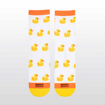 Ducks White Socks
