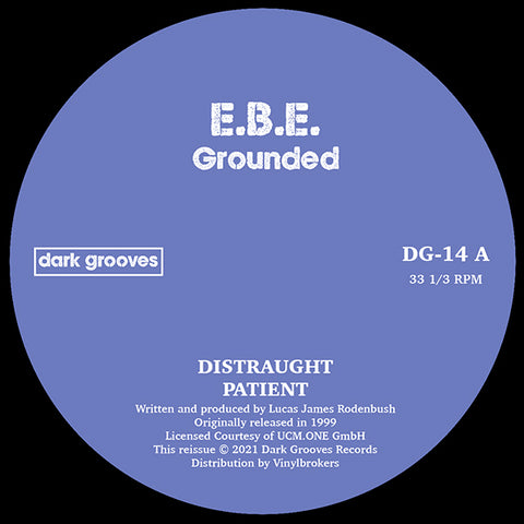 EBE | Grounded - Expected April - on way