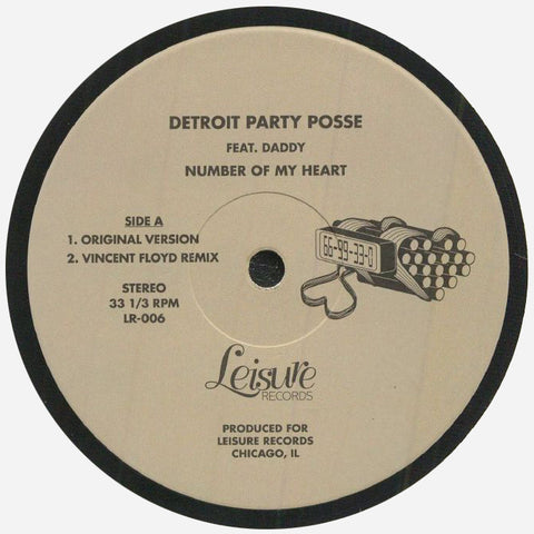Detroit Party Posse feat Daddy | Number Of My Heart