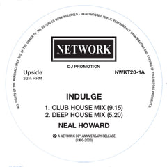 Neal Howard |  Indulge / To Be Or Not To Be (Black vinyl)