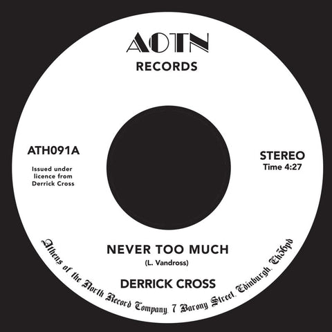 Derrick Cross | Never Too Much - Expected Feb