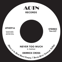 Derrick Cross | Never Too Much