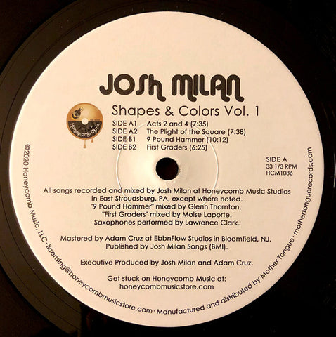 Josh Milan | Shapes & Colors Vol.1