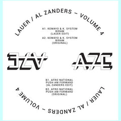 Lauer / Al Zanders | Africa Seven Presents A7Edits Volume 4 - Expected Thursday