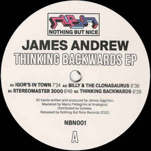 James Andrew | Thinking Backwards EP