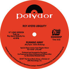Roy Ayers Ubiquity | Running Away / Love Will Bring Us Back Together