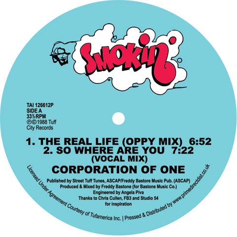 Corporation Of One | The Real Life / So Where Are You