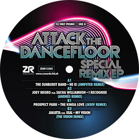 The Sunburst Band / Joey Negro / Prospect Park / Jakatta | Attack The Dancefloor – Special Remix EP