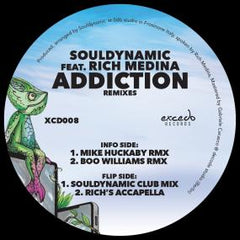 Souldynamic Ft. Rich Medina | Addiction (Mike Huckaby, & Boo Williams Remixes)