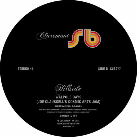 Hillside | Walpole Days (Joe Claussell Remixes)