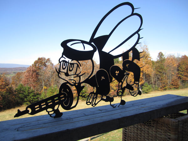 SEABEE Metal Wall Decor