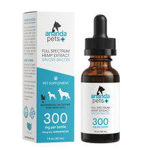 Load image into Gallery viewer, ANANDA Pets Bacon Flavored 300mg/30mL Oil